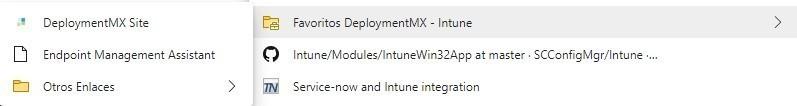 Administra los favoritos de Microsoft Edge con Intune